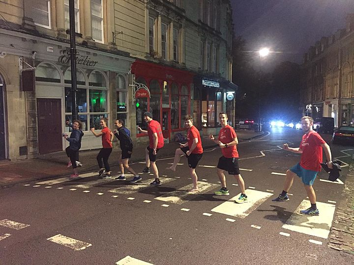 Don't Stomp me now, we're having a GoodGym time