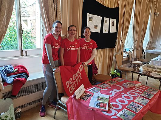 One STALL step for goodgym, a giant leap for Climate Change