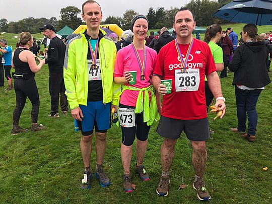 A muddy good time was had by all at the Green Leek 10.5k Run