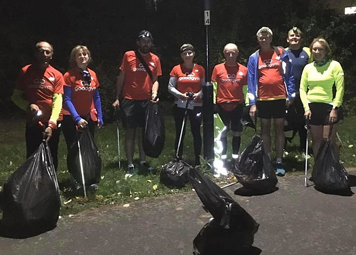 You can't get fitter than a GoodGym litter picker, we're the boys (and girls) to trust!