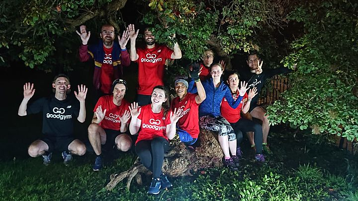A spooky chapter in the GoodGym history books...
