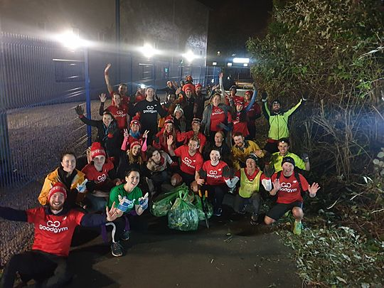 The final of the GoodGym rake off