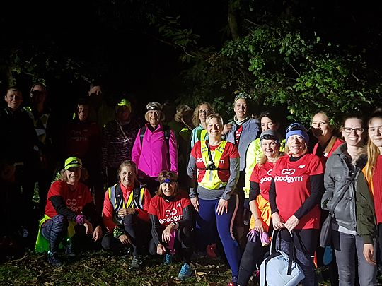 If you go down to the woods today...you are sure of a Goodgym surprise!