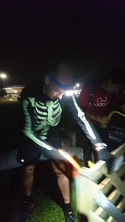 'Bone'-e-'fire'dy hard work