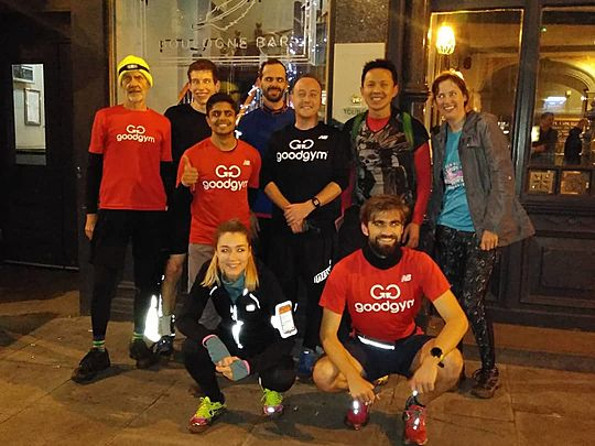 Ghoulgym Ghost Run (Headtorches on Hampstead Heath)