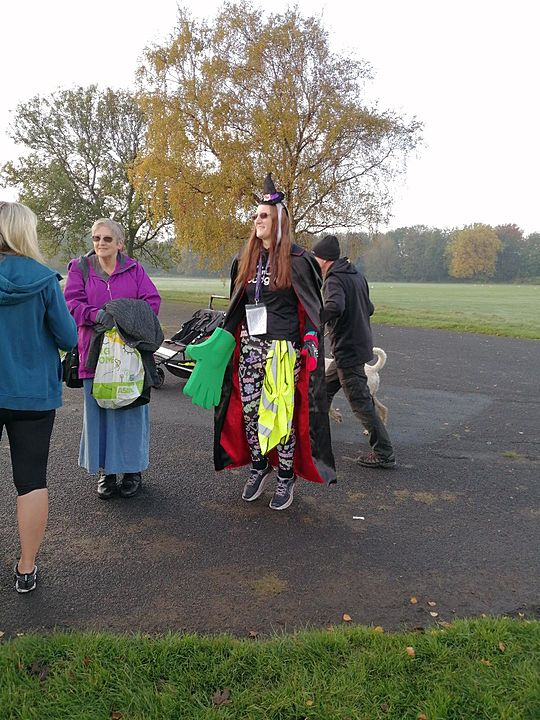 Witch way is it to the Halloween junior parkrun? It's a Mist-ery!