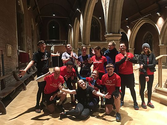Maybe GoodGym are born with it. Maybe it's maple leaves 🍁