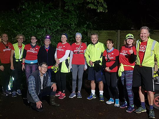 Remember, Remember, the 5th of November - Runpower, Goodgym and Trot!