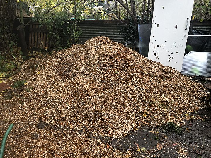 Wood. Chip. Down.