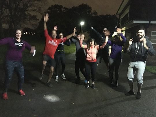 Goodgym Barnet get Stumped and are all out!