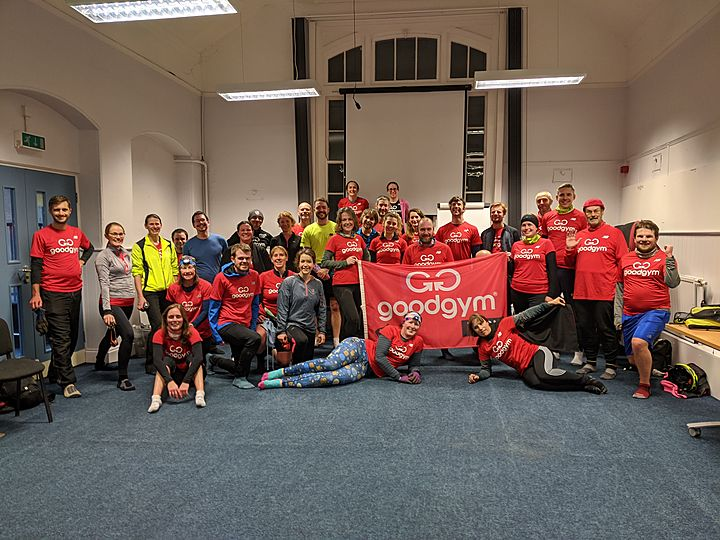GoodGym York Christmas Party and end of year awards!
