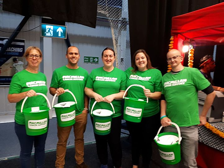 Supporting Macmillan Cancer Support at St David's Hall