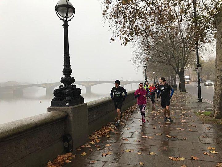 Misty Morning Albert Bridge
