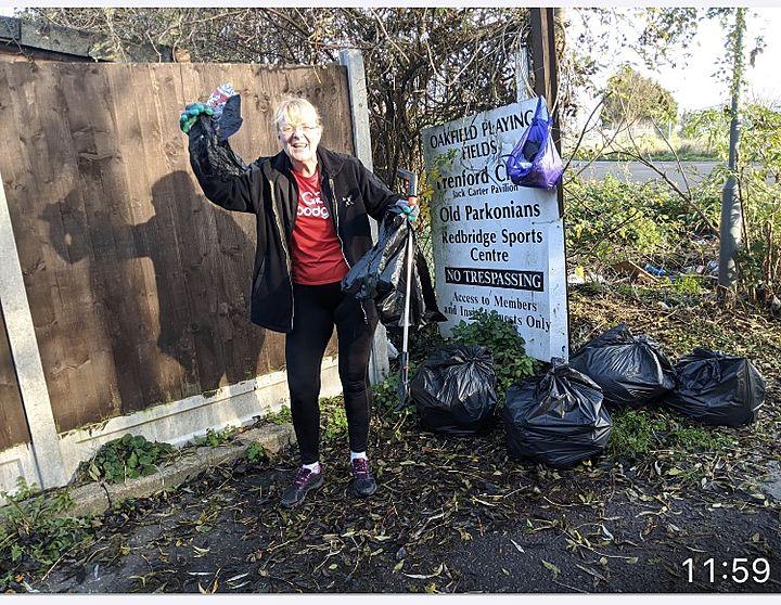 From Trash Mound To Garbage Bag Mountain