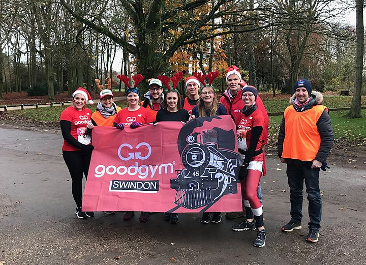On the first day of December, Swindon GoodGym gave to me...