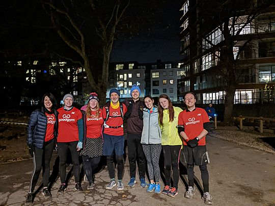 Advent Running (First GG Islington of December)