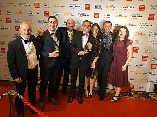 GoodGym Cardiff and the Vale are the BBC Sport Wales 'Getting Wales Active' Winners