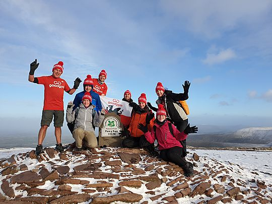 Reaching new heights - Annual Trip to Pen Y Fan!