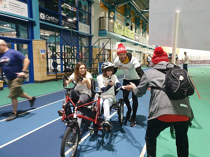 An early Christmas present for many disabled children