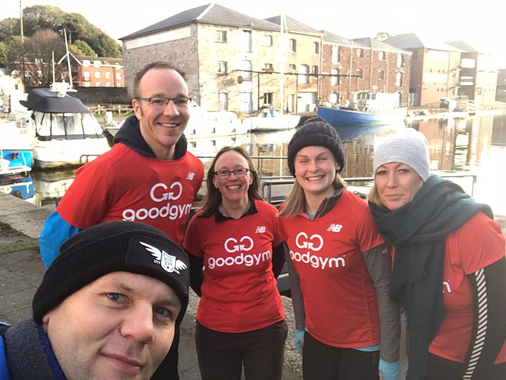 River deep, GoodGym high!