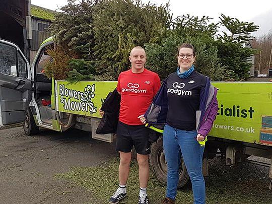 Treemendous Treecycle effort for St Helena Hospice!