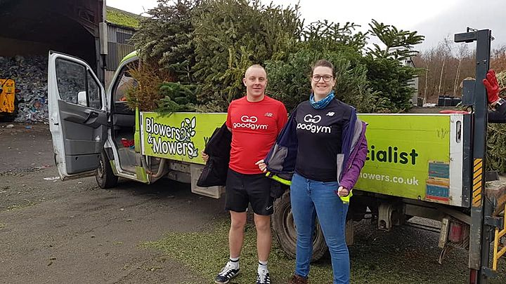 Treemendous Treecycle effort for St Helena Hospice!