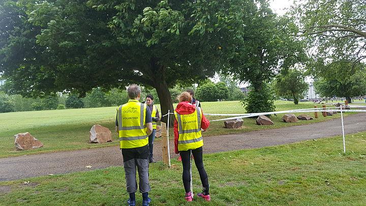 Volunteering at Burgess Parkrun
