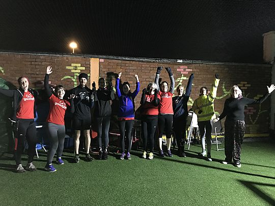 GoodGym Trafford - fun and games at Cheeky Cherubs