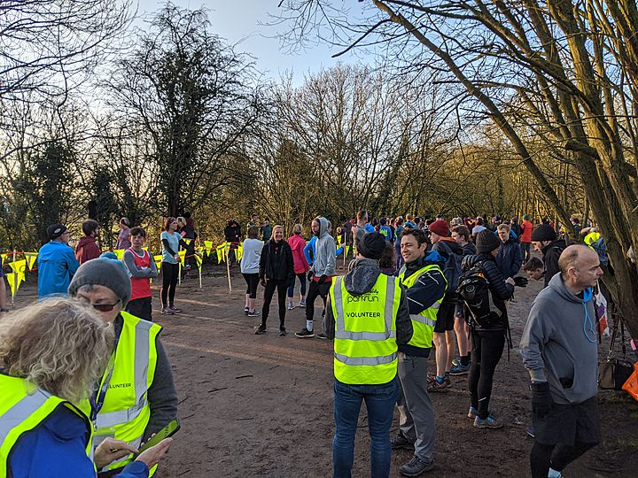 We totally scan parkrun