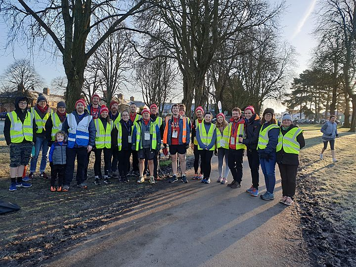 A crazy little thing cold Cardiff Junior Parkrun