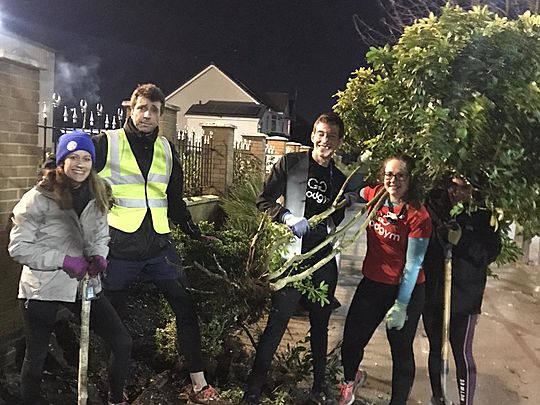 Five green fingered GG'ers take a bough