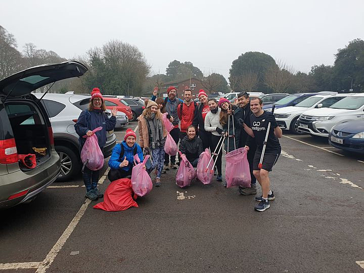 GG Litter pick is never a WASTE of time
