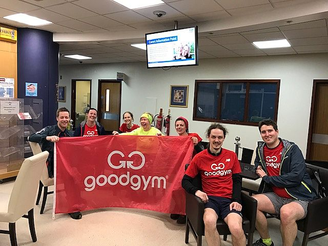 Mini hats off to Stockport Goodgym
