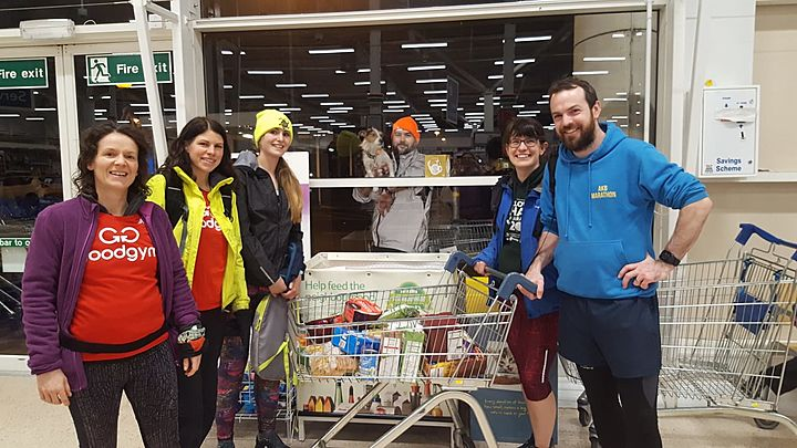 Getting trollied for a good cause