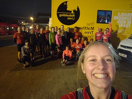 The Red Barrows and other GoodGym aerobatic delights