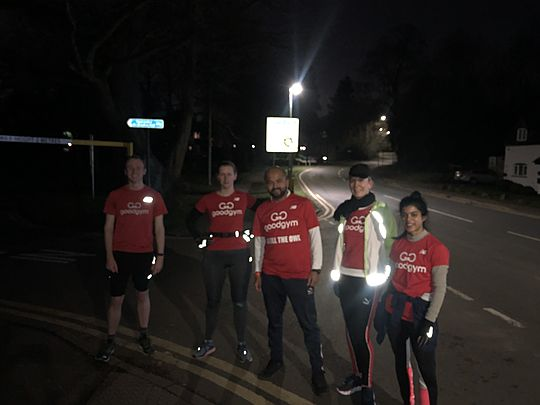 Solihull GoodGym take the cake