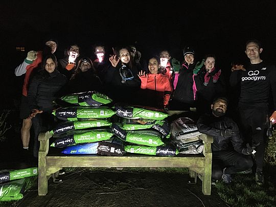 Goodgym Barnet have bags of fun!