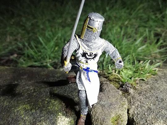 It was a litter-bit cold last Knight