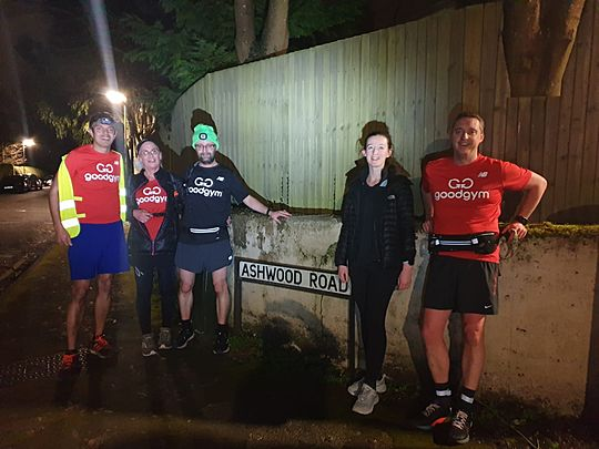 spreading the GoodGym Love  <3