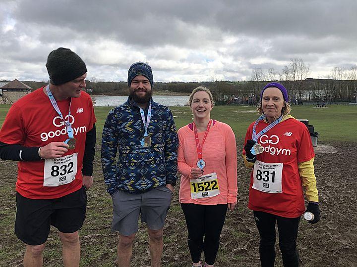 Carsington 10km & Half Marathon with the gang!