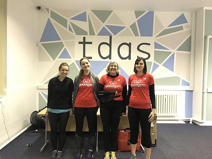 Pre tea dash for TDAS (and Gorse Hill Studios)