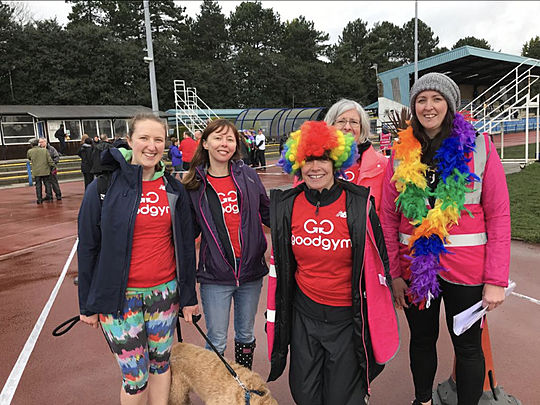 In memory of Helen Bacon - 5k Your Way at Stretford Parkrun