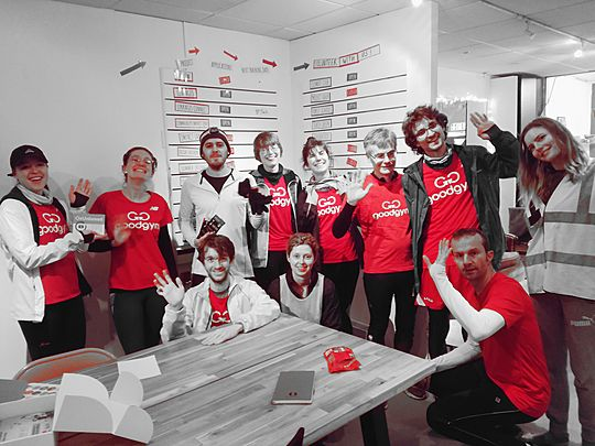 A hub full of sugar was spread by team GoodGym Oxford!