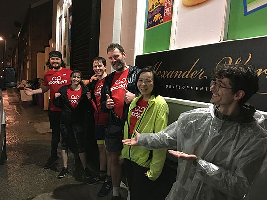 The Liverpuddle Forecast: GoodGym // Bad Weather