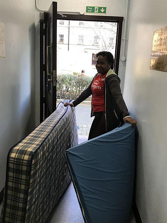 Do you, Latoya, take these mattresses...