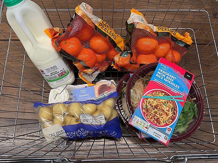Deliver groceries for Mr C
