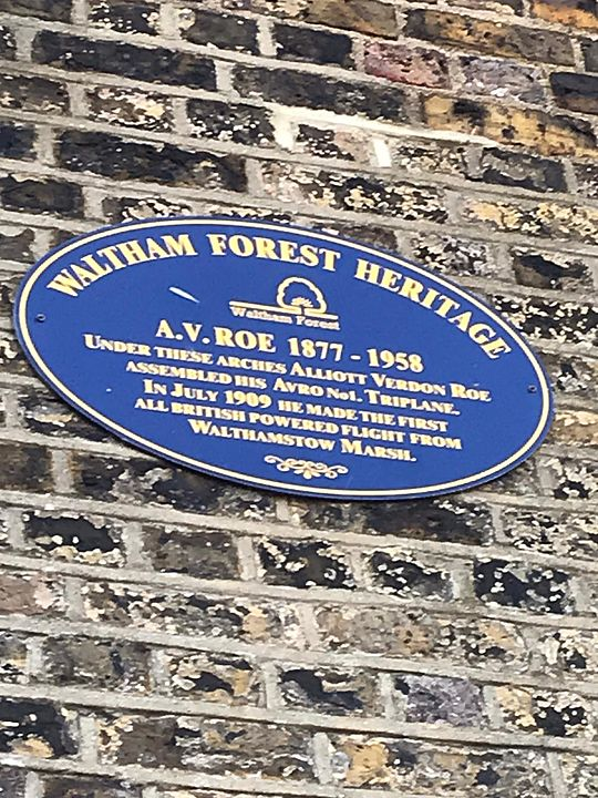 Blue Skies and Blue Plaques
