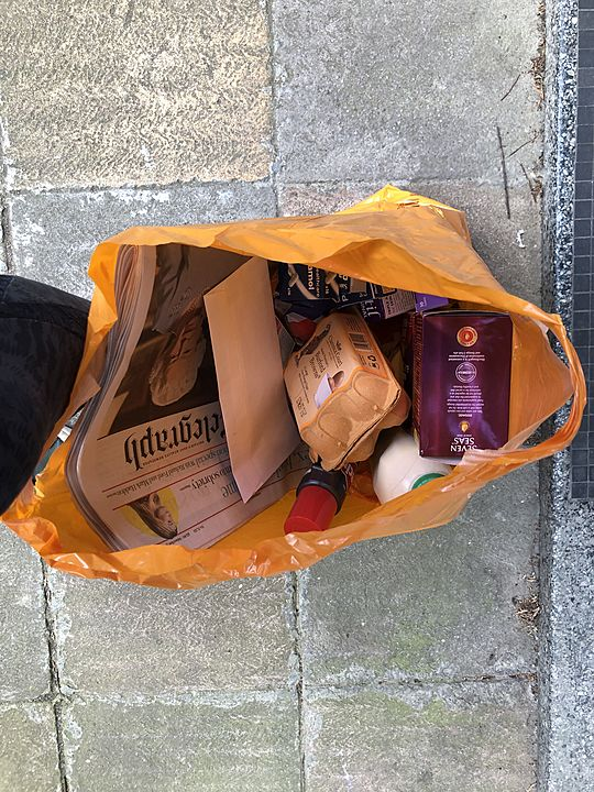 Deliver groceries for Mr A