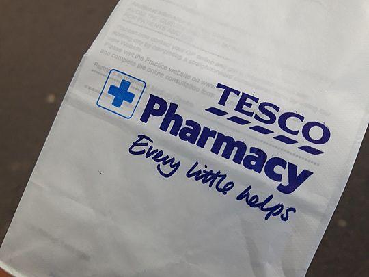 Prescription pickup for Mr P