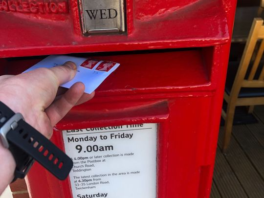 Red (faced) letter day
